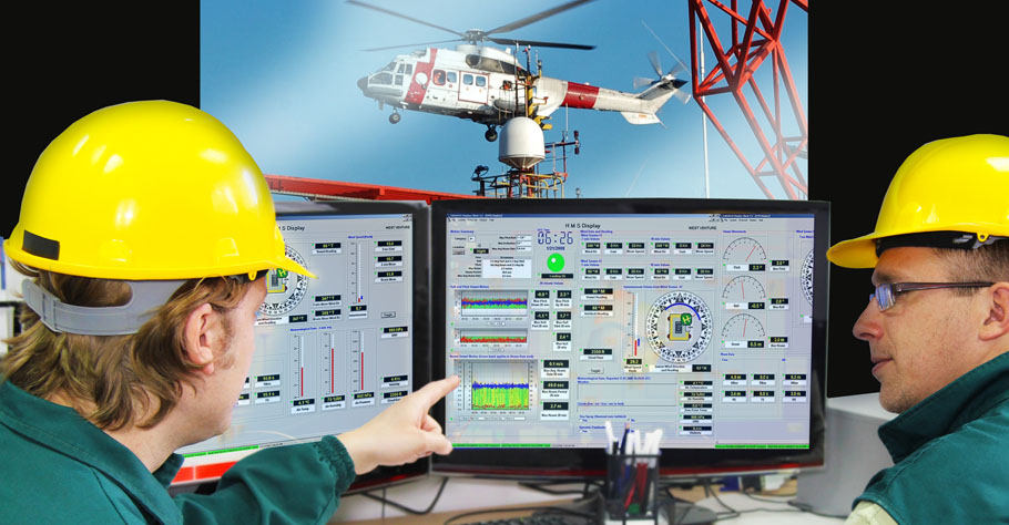 Heli-Deck and Environmental Monitoring
