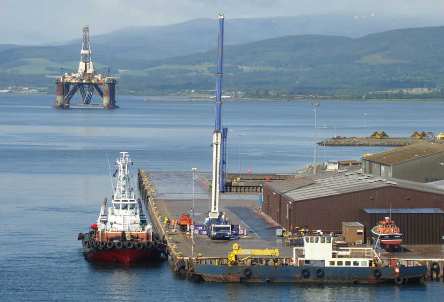 rig reactivation systems, jack-up rig, Invergordon
