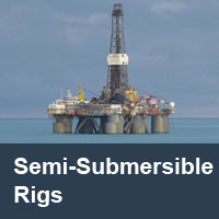 semi-submersible rigs