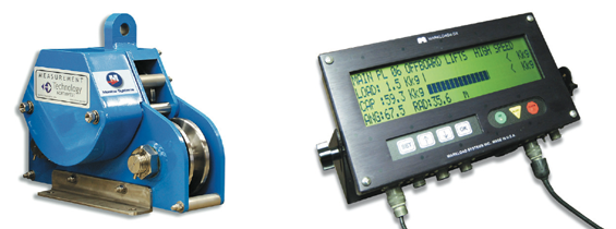 Safe Load Indicator Systems : Crane safe load monitoring