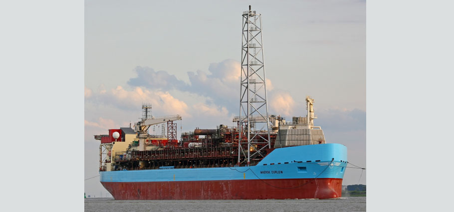 Maersk Curlew, FPSO, Floating Production Storage Offloading Vessel