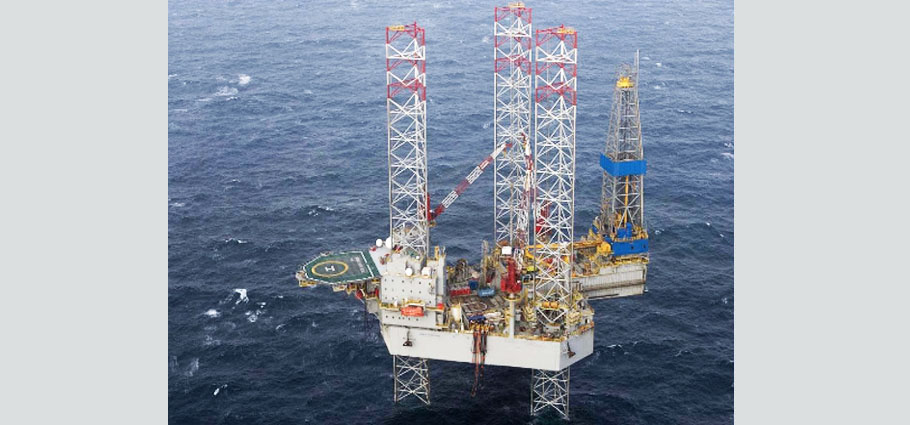 Noble Hans Deul Jack-Up Rig