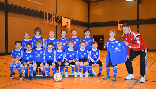 Broomhill (P4) receive local Sponsorship