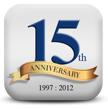 15 year anniversary logo monitor systems celebrates its 15th