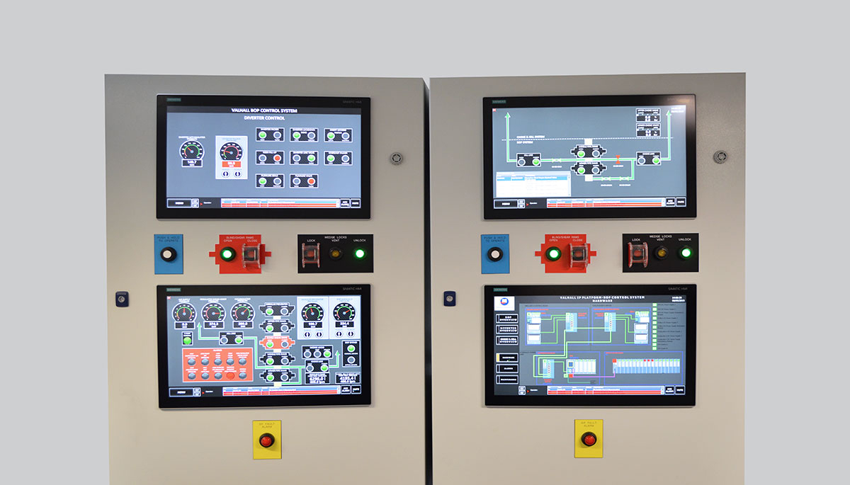 BOP control panel design and manufacture
