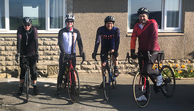 Charity Ride Before