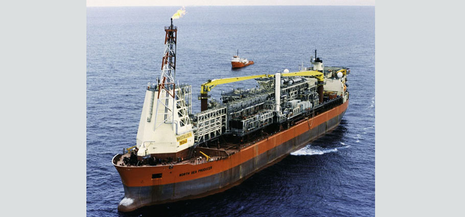 Maersk North Sea Producer, FPSO, Floating Production Storage and Offloading Vessel