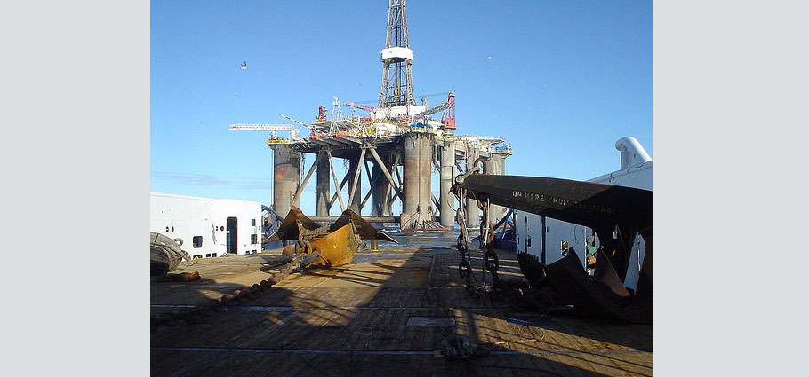 Sedco 714 Semi-Submersible Rig