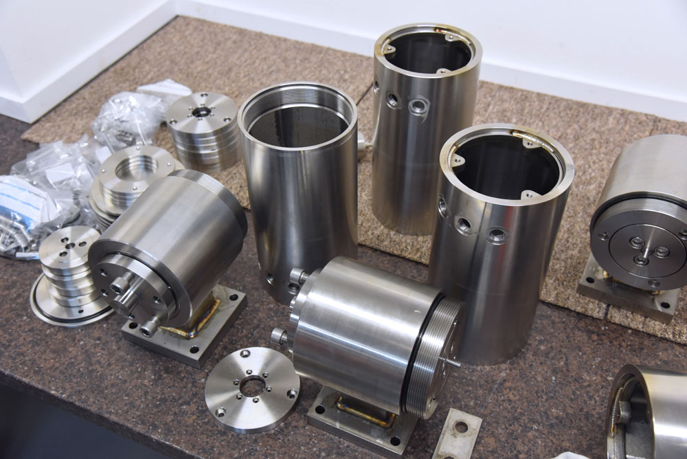 system stainless steel components