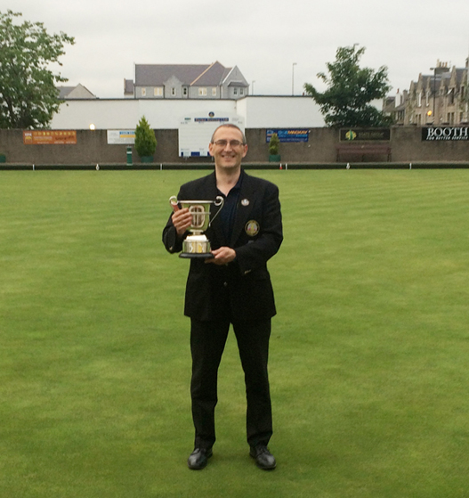 Fergus Muat, Counties of Aberdeen & Kincardine Bowls Champion