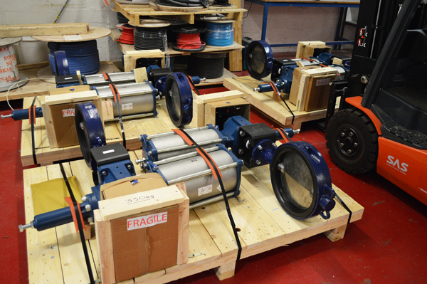 Ballast Overboard Discharge Valves Monitor Systems Aberdeen
